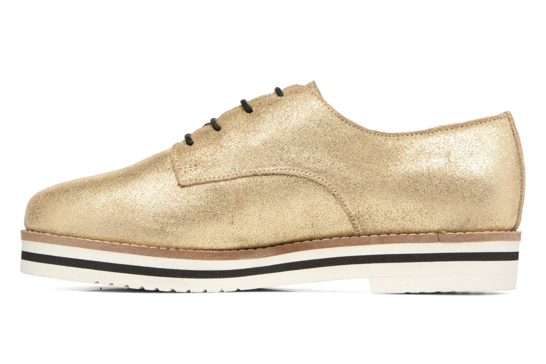 Chaussures à lacets Coolway Avocado Or et bronze vue face