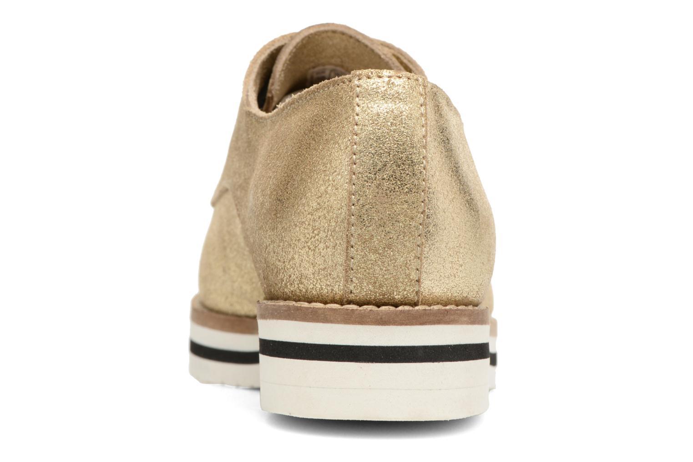 Chaussures à lacets Coolway Avocado Or et bronze vue droite