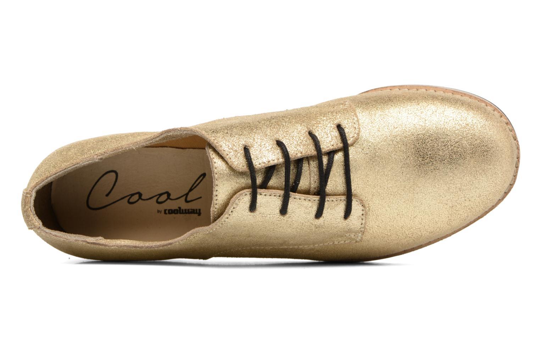 Chaussures à lacets Coolway Avocado Or et bronze vue gauche