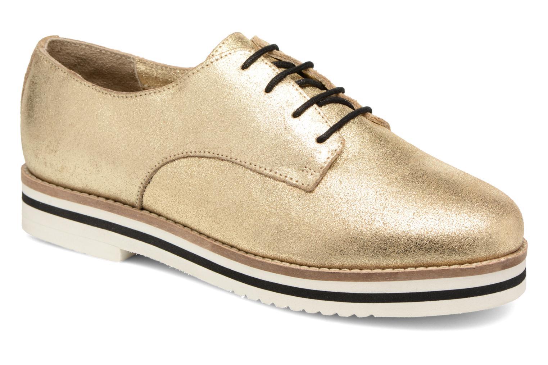Chaussures à lacets Coolway Avocado Or et bronze vue détail/paire