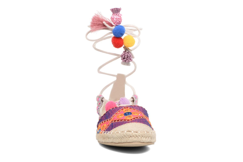 Alpargatas Coolway Bamburi Multicolor vista del modelo