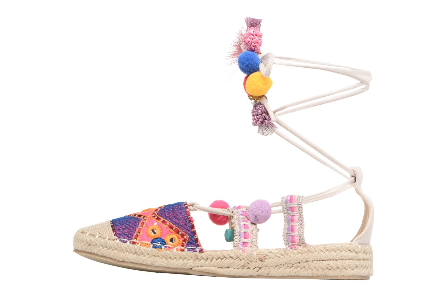 Espadrilles Coolway Bamburi Multicolor front view
