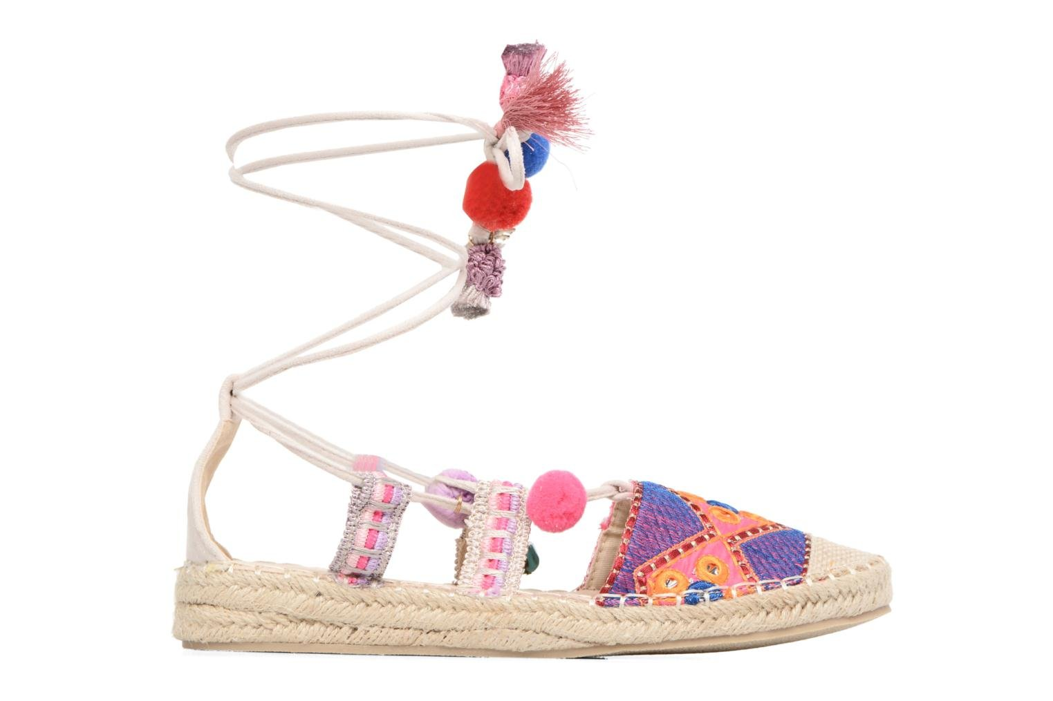Espadrilles Coolway Bamburi Multicolor back view