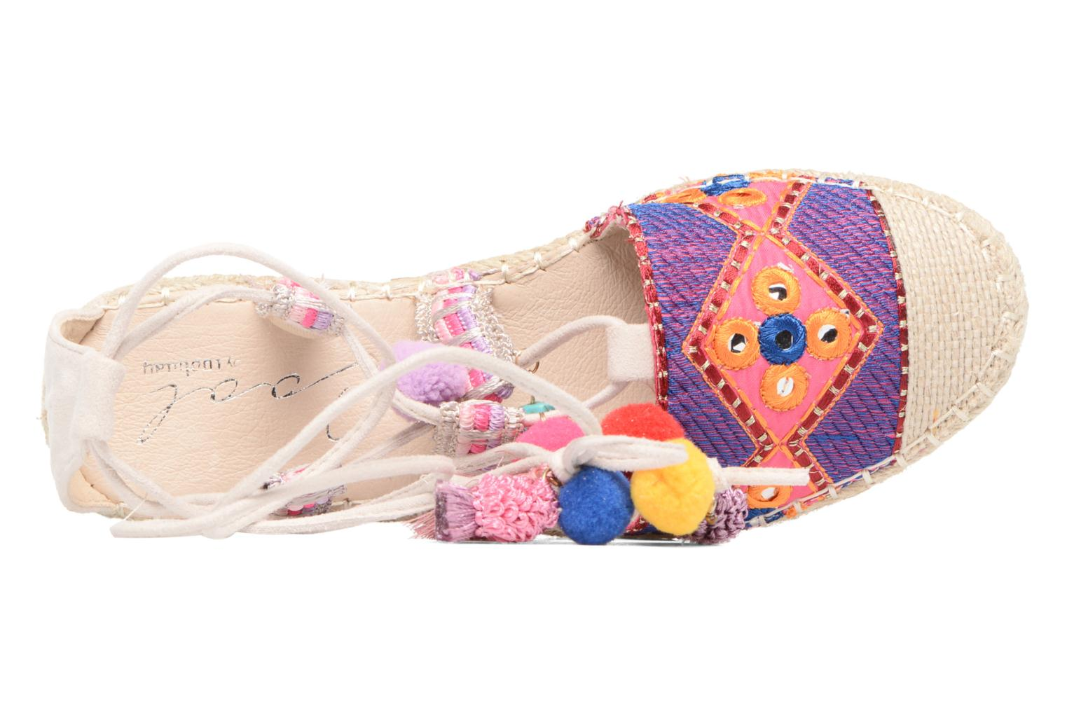 Espadrilles Coolway Bamburi Multicolor view from the left