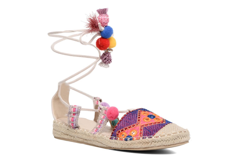 Espadrilles Coolway Bamburi Multicolore vue détail/paire