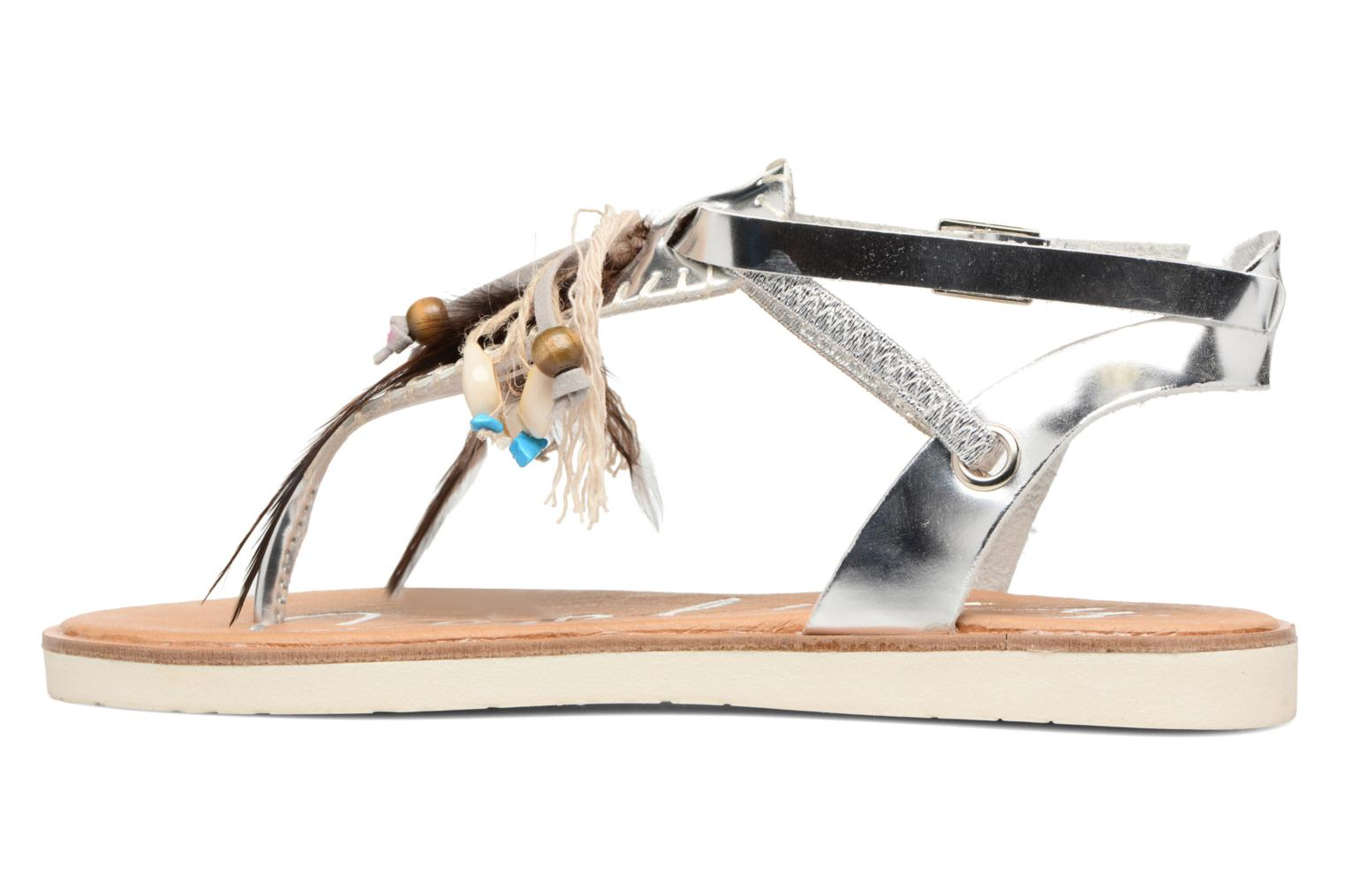 Sandals Coolway Honololu Silver front view
