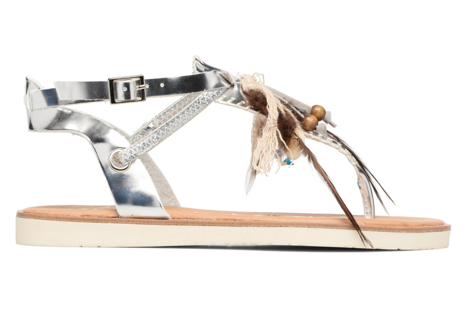 Sandals Coolway Honololu Silver back view