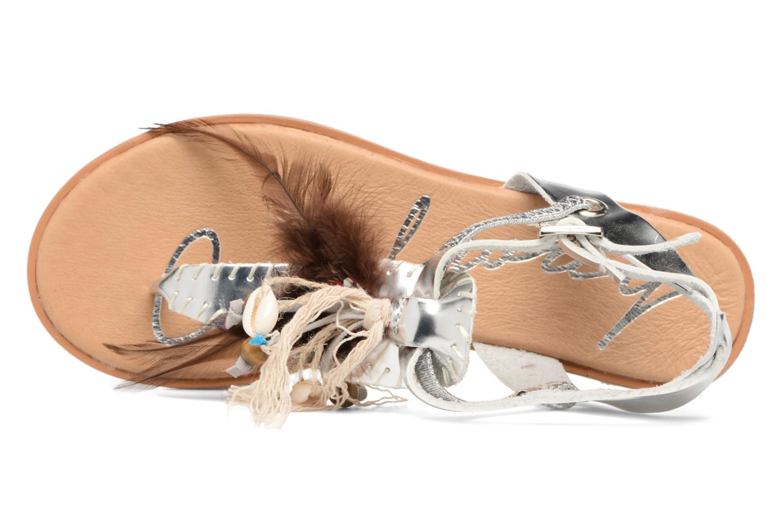 Sandals Coolway Honololu Silver view from the left