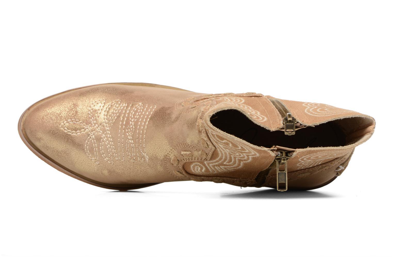 Bottines et boots Coolway Onyx Or et bronze vue gauche