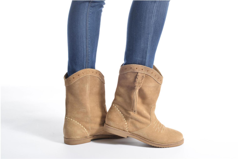 Bottines et boots Coolway Quartz Marron vue bas / vue portée sac