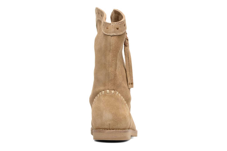 Bottines et boots Coolway Quartz Marron vue droite