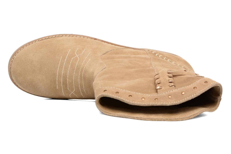 Boots en enkellaarsjes Coolway Quartz Bruin links