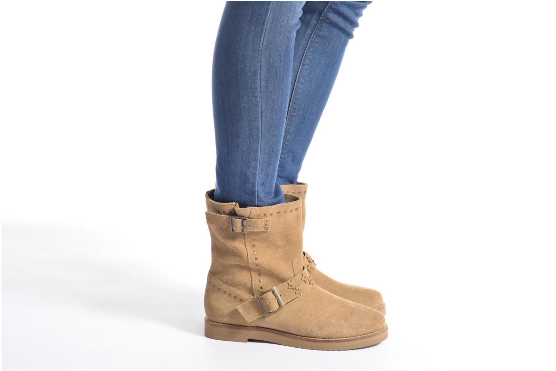 Bottines et boots Coolway Mica Marron vue bas / vue portée sac