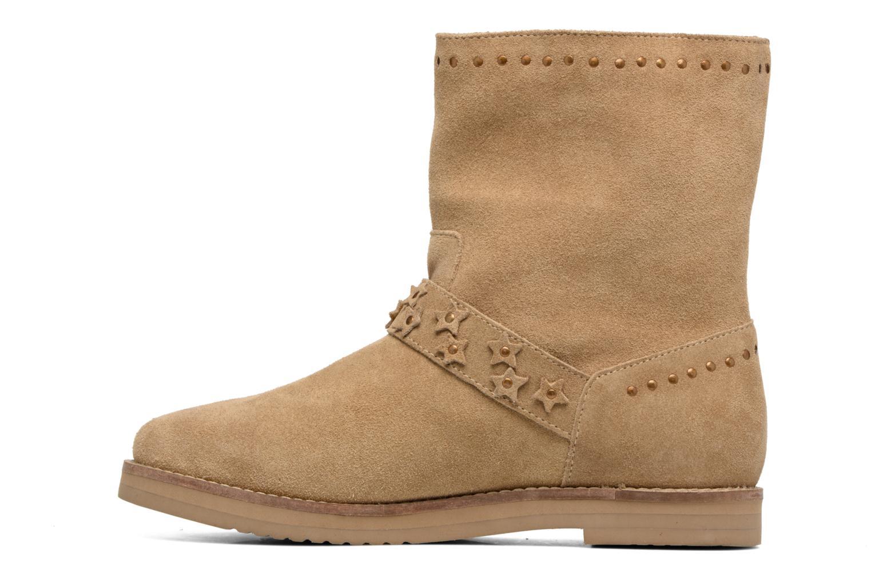 Bottines et boots Coolway Mica Marron vue face