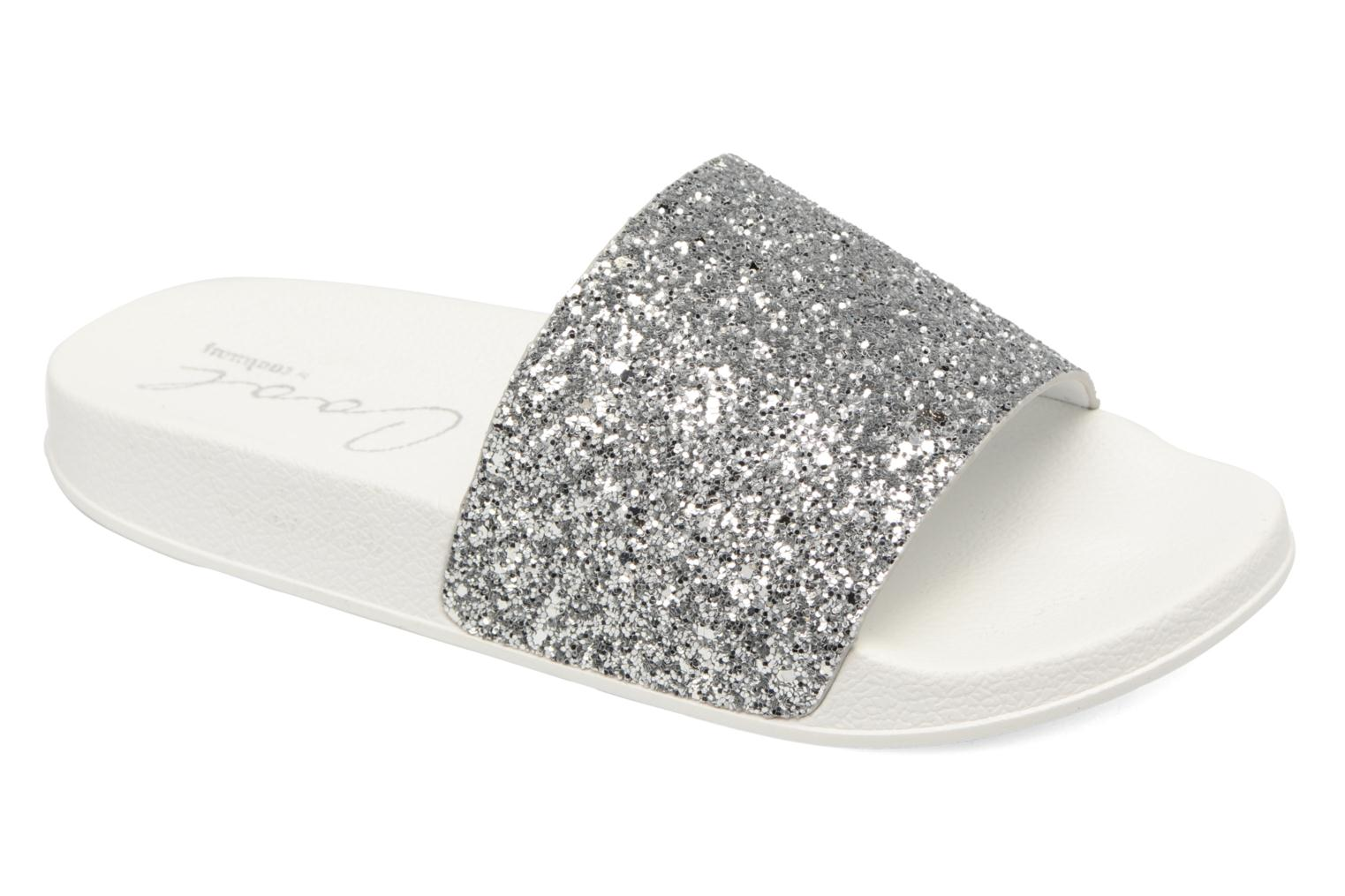 Mules & clogs Coolway Waikiki Silver detailed view/ Pair view