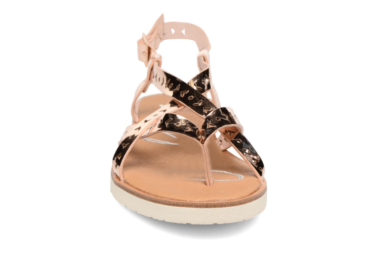 Sandales et nu-pieds Coolway Poppy Rose vue portées chaussures