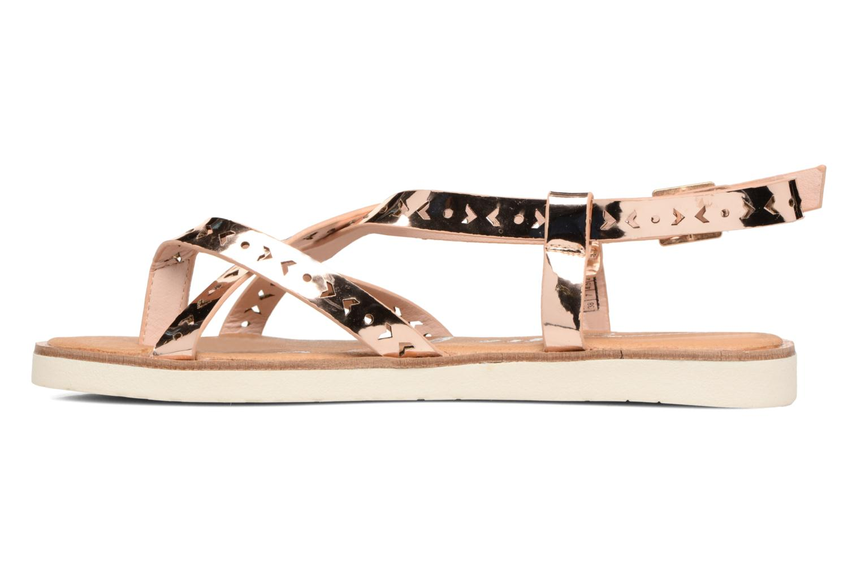 Sandales et nu-pieds Coolway Poppy Rose vue face