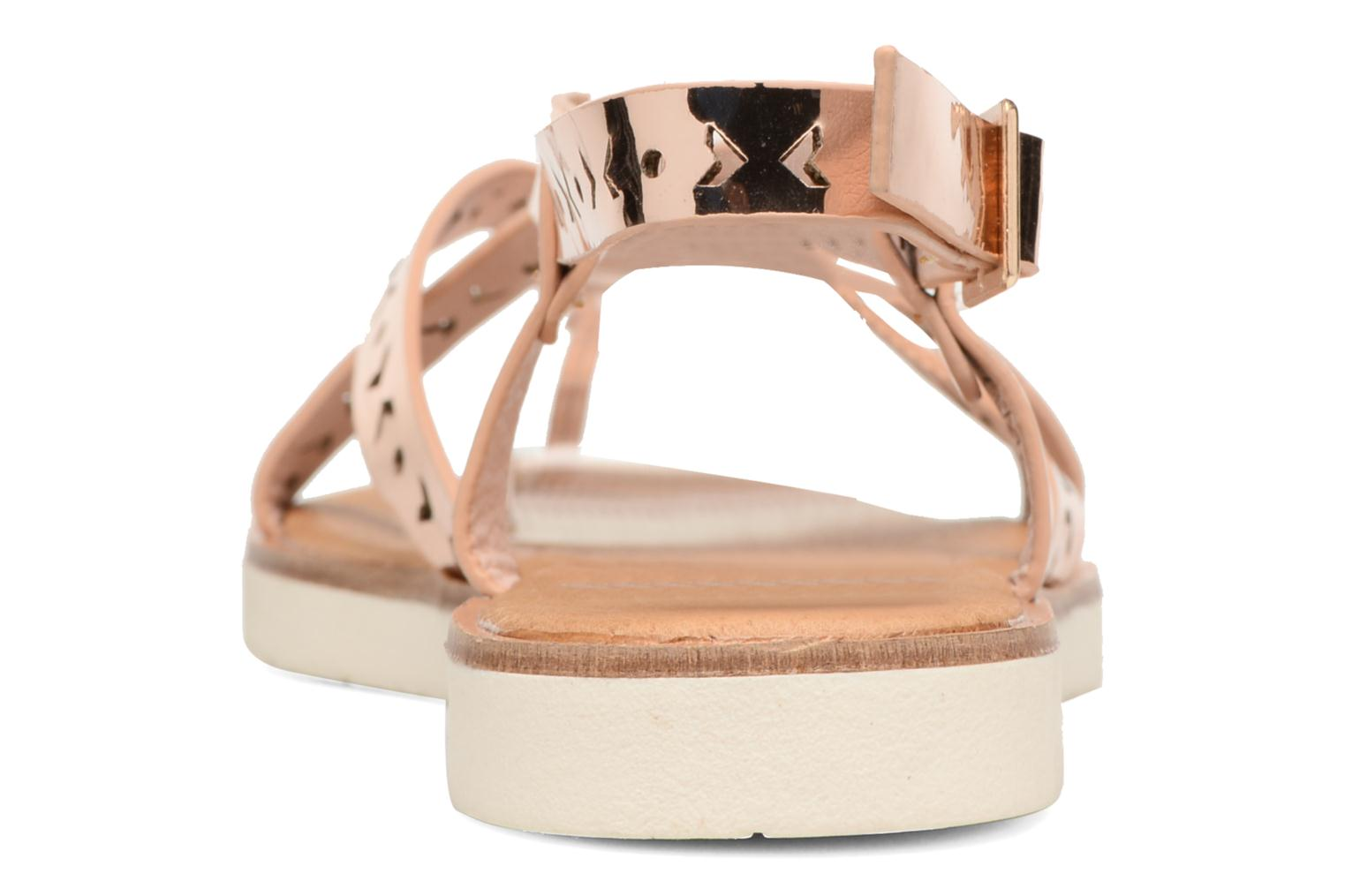 Sandals Coolway Poppy Pink view from the right