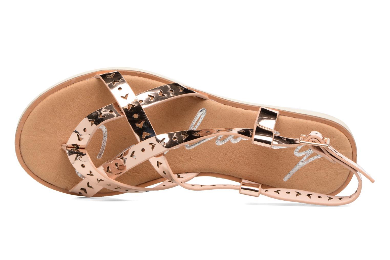 Sandales et nu-pieds Coolway Poppy Rose vue gauche