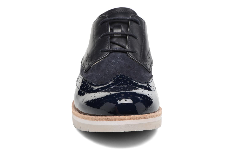 Zapatos con cordones Gabor Florenz 3 Azul vista del modelo