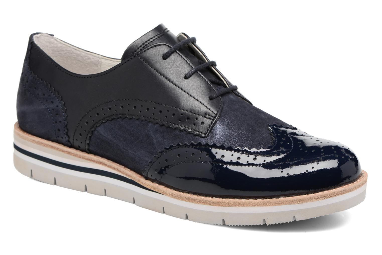 Zapatos con cordones Gabor Florenz 3 Azul vista de detalle / par