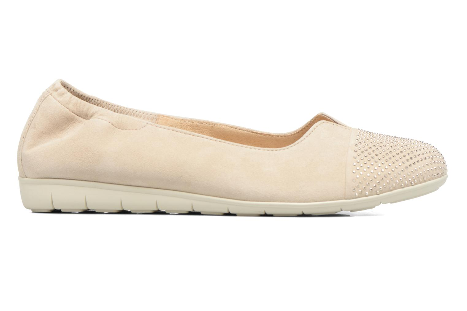 Ballet pumps Gabor Linda Beige back view