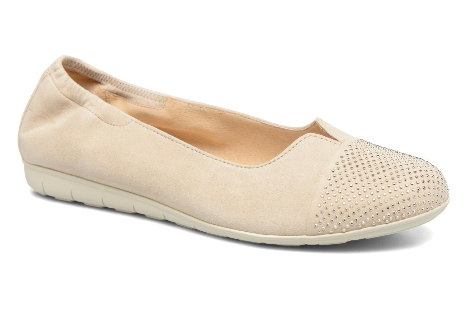 Ballet pumps Gabor Linda Beige detailed view/ Pair view