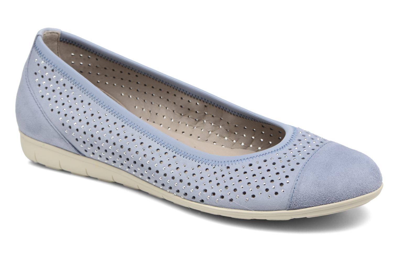 Bailarinas Gabor Linda Azul vista de detalle / par