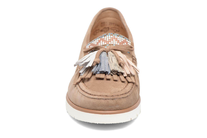 Mocassins Gabor Rimini Marron vue portées chaussures