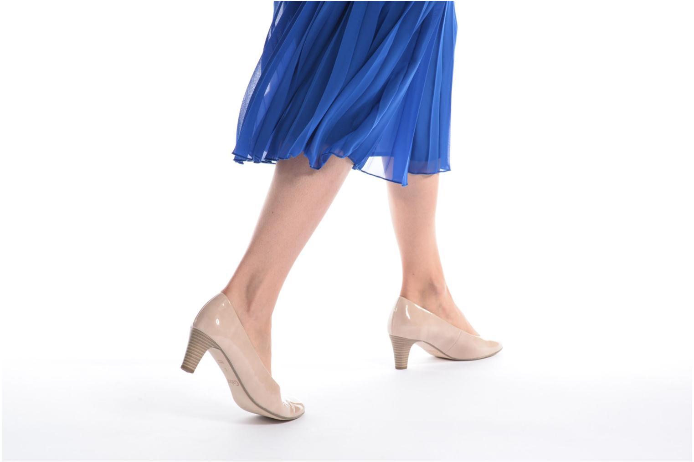 Zapatos de tacón Gabor Andria Beige vista de abajo
