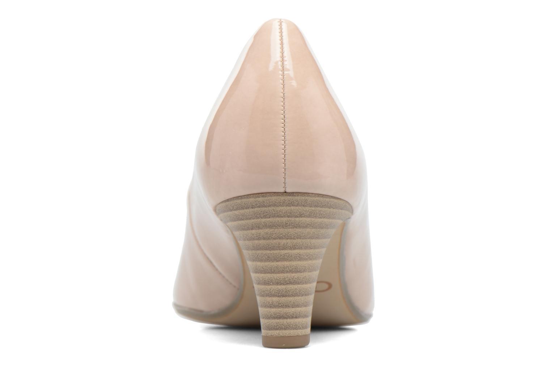 Zapatos de tacón Gabor Andria Beige vista lateral derecha