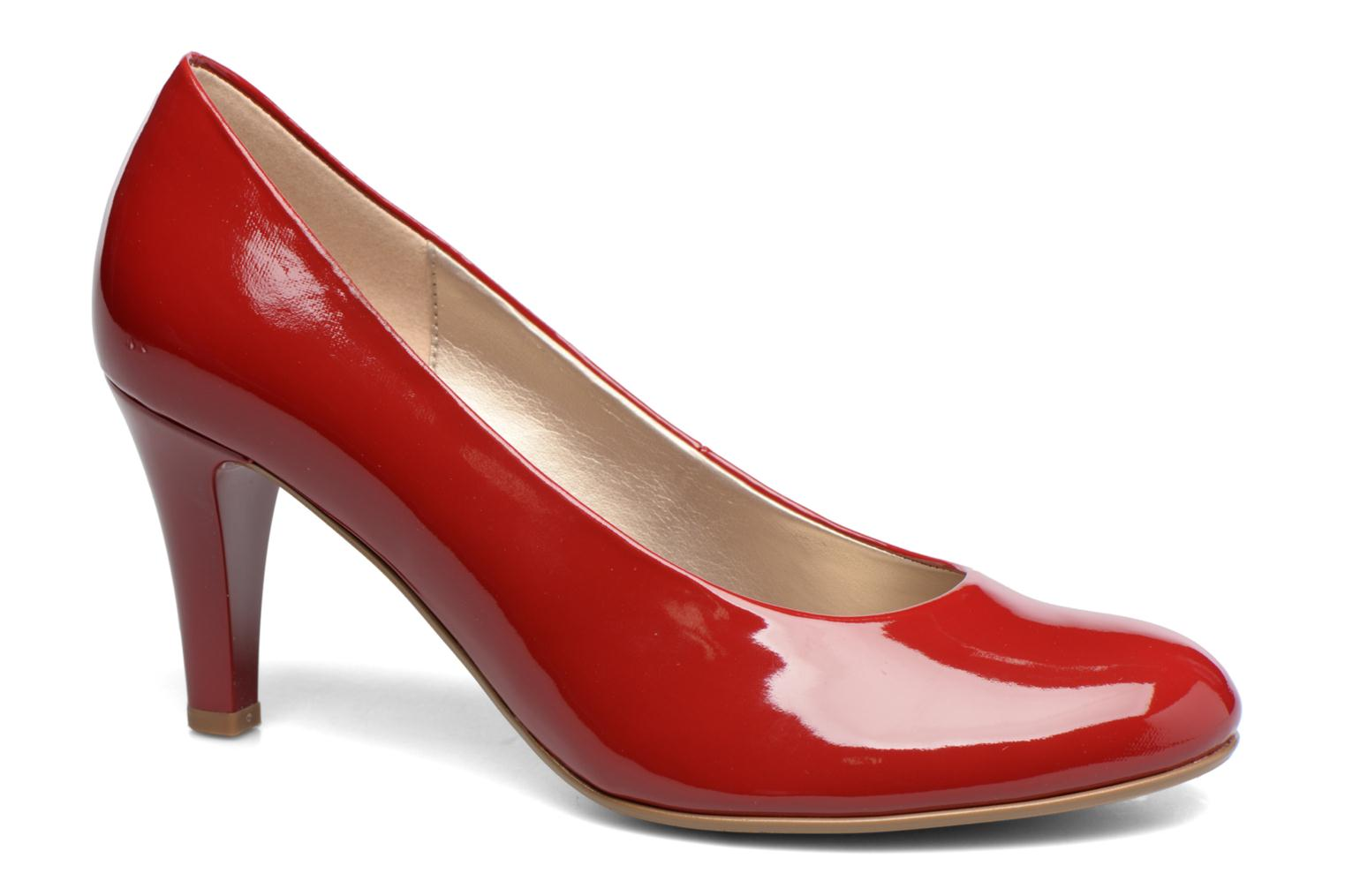 High heels Gabor Pesaro Red detailed view/ Pair view