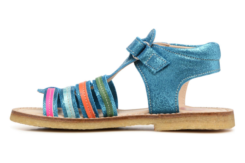 Sandales et nu-pieds Shoesme Selma Bleu vue face