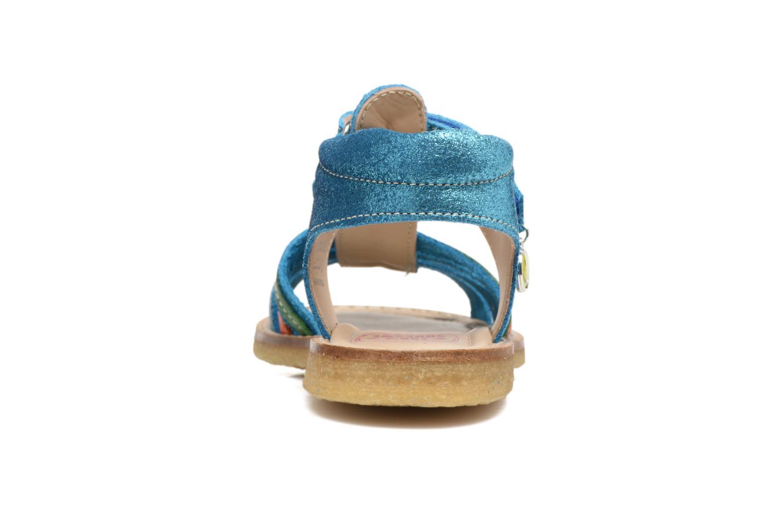 Sandales et nu-pieds Shoesme Selma Bleu vue droite