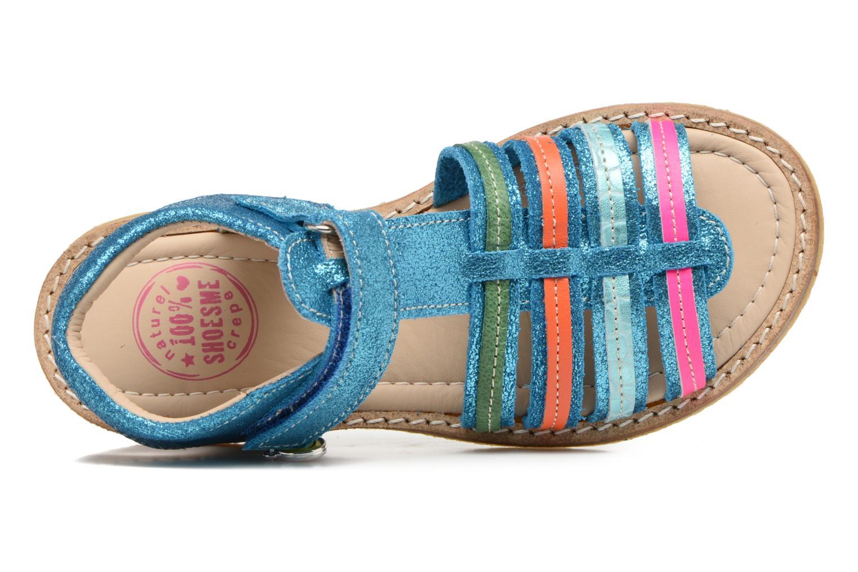 Sandales et nu-pieds Shoesme Selma Bleu vue gauche