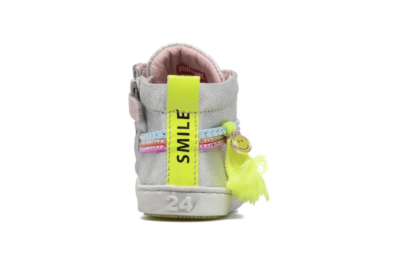 Baskets Shoesme Sina Argent vue droite