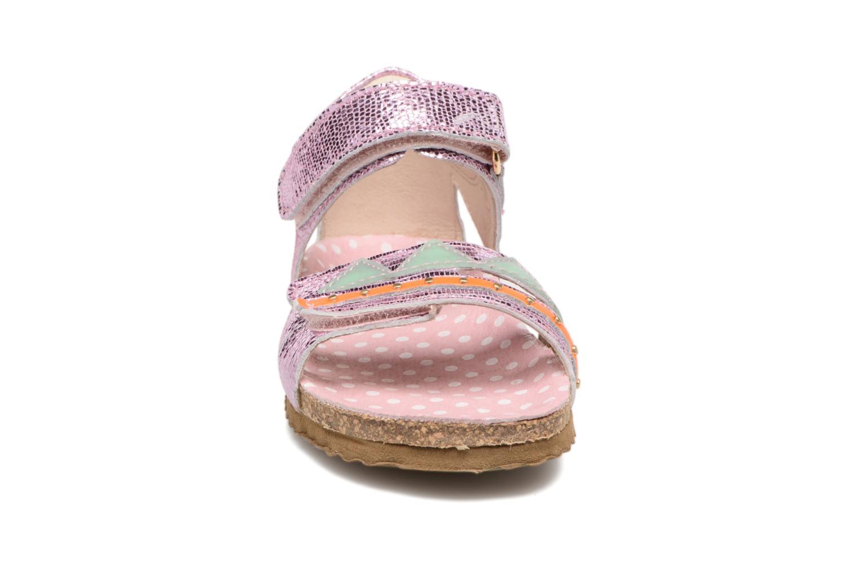 Sandales et nu-pieds Shoesme Sissy Rose vue portées chaussures