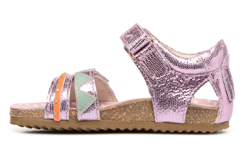 Sandales et nu-pieds Shoesme Sissy Rose vue face