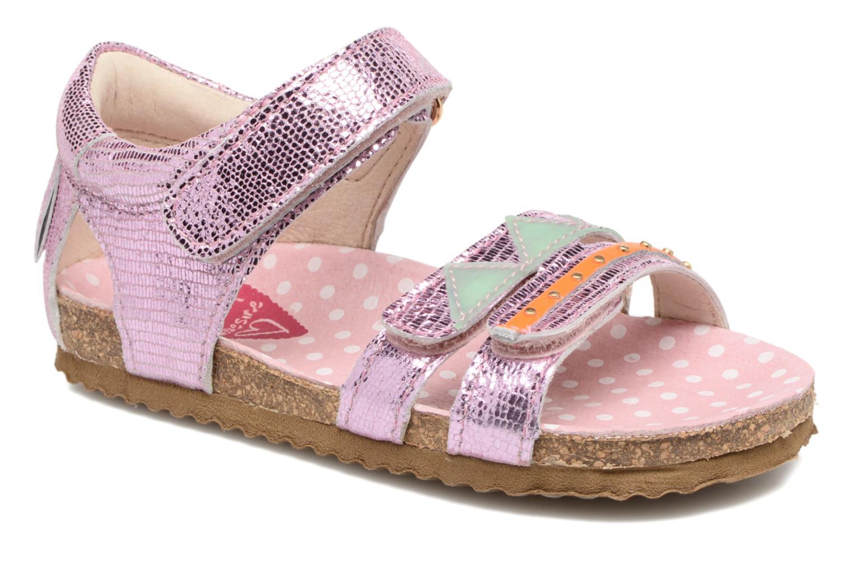 Sandales et nu-pieds Shoesme Sissy Rose vue détail/paire