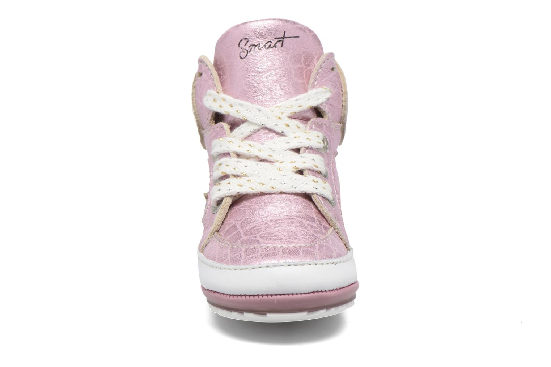 Baskets Shoesme Suzette Rose vue portées chaussures