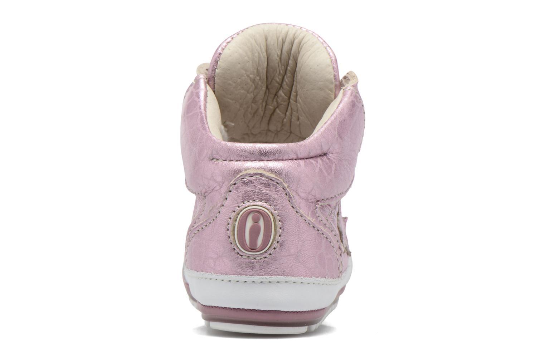 Baskets Shoesme Suzette Rose vue droite