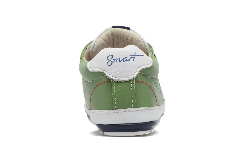 Baskets Shoesme Stan Vert vue droite