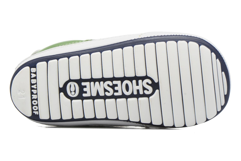 Baskets Shoesme Stan Vert vue haut