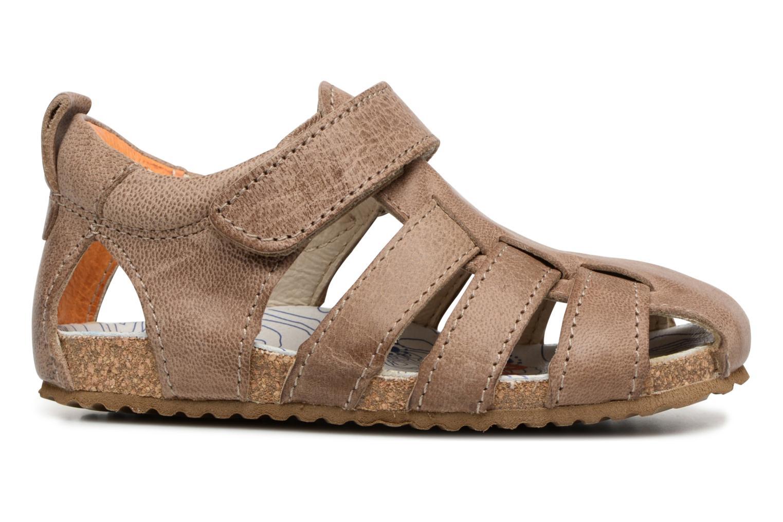 Sandales et nu-pieds Shoesme Stuart Marron vue derrière