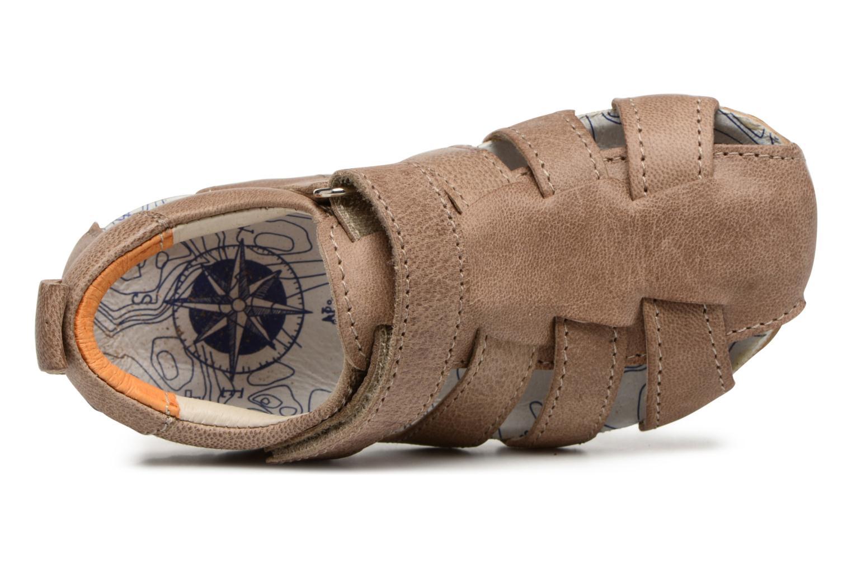 Sandales et nu-pieds Shoesme Stuart Marron vue gauche