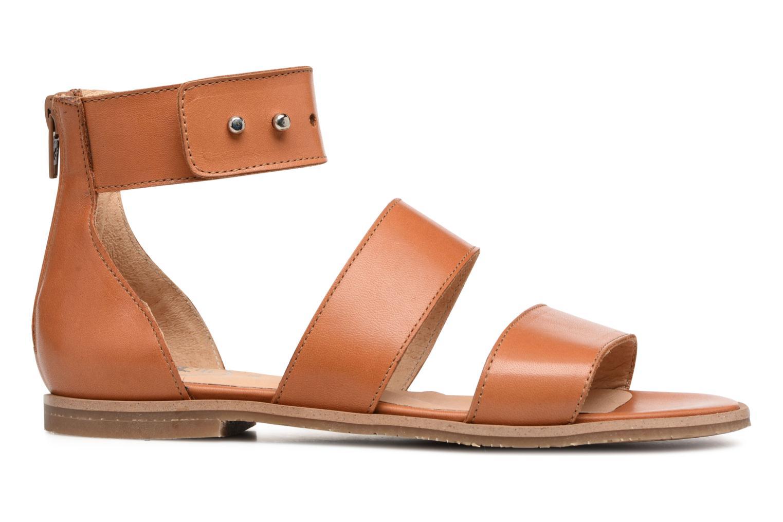 Sandales et nu-pieds Yep Martine Marron vue derrière