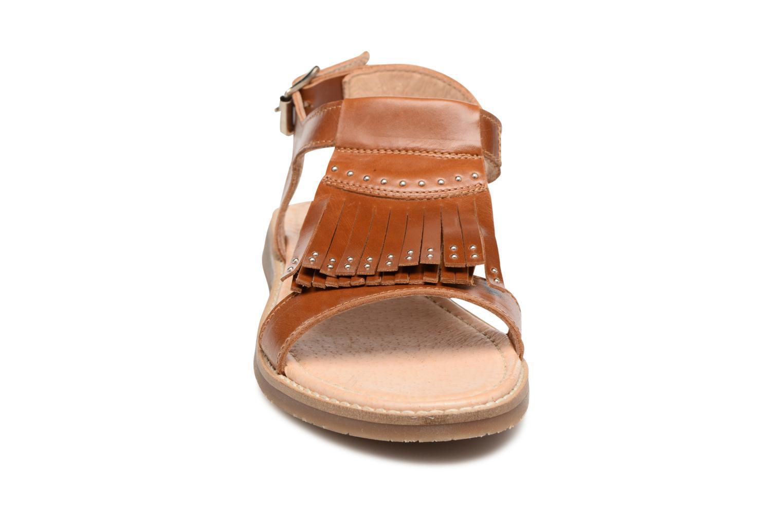 Sandales et nu-pieds Yep Melody (1371) Marron vue portées chaussures