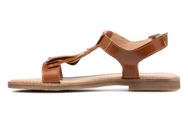Sandales et nu-pieds Yep Melody (1371) Marron vue face