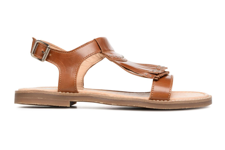 Sandales et nu-pieds Yep Melody (1371) Marron vue derrière