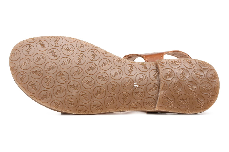 Sandales et nu-pieds Yep Melody (1371) Marron vue haut